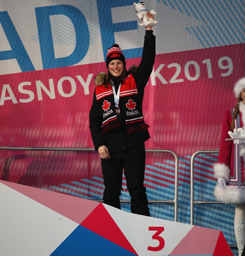 Audrey Macmaniman Jeux Mondiaux Universitaire 2019